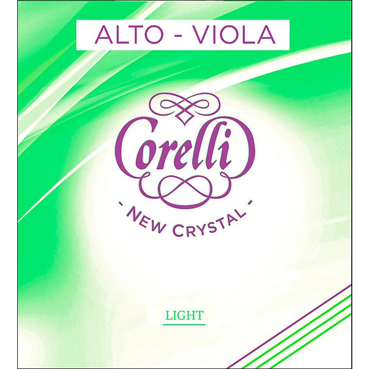 Corelli Crystal Viola D String Full Size Medium Loop End