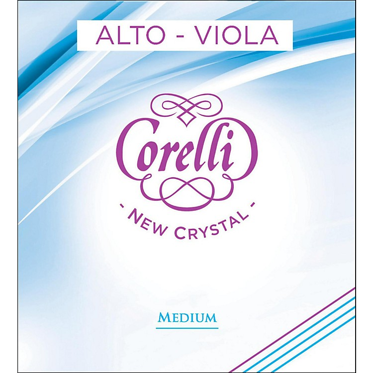 CorelliCrystal Viola String Set15 to 15.5 inch SetMedium Loop End