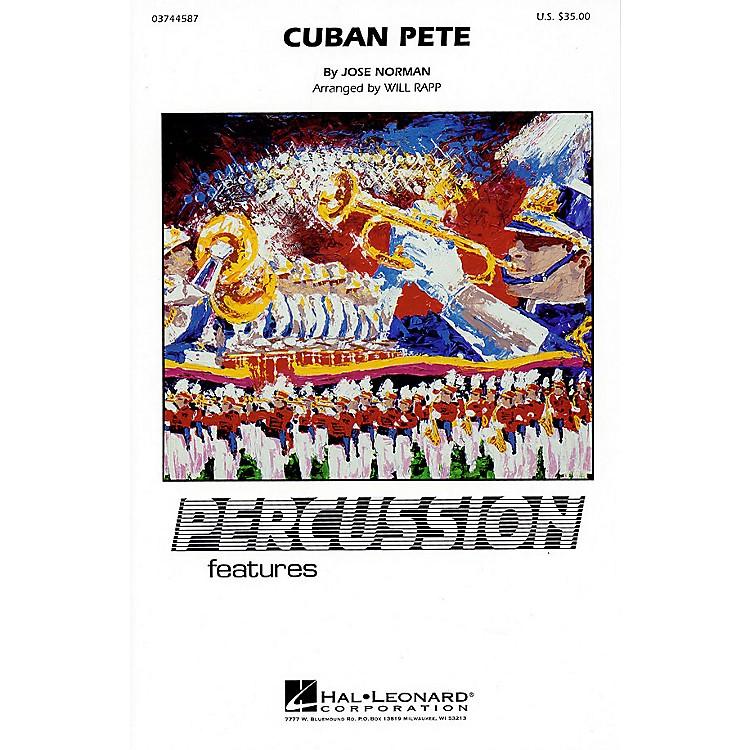 Hal LeonardCuban Pete (Percussion Feature) Marching Band Level 4