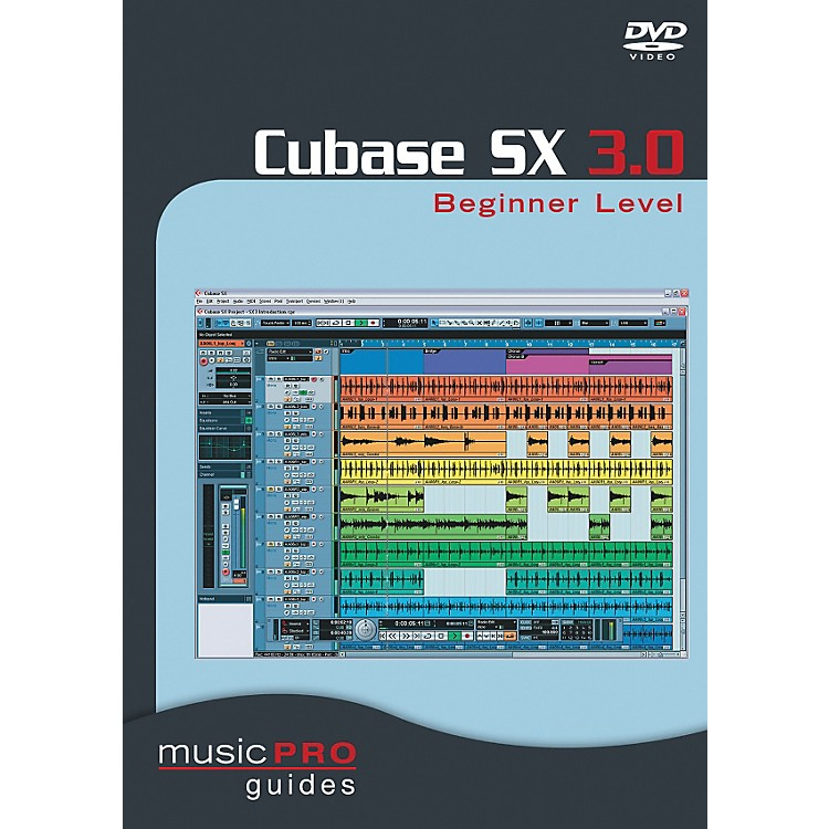 Hal Leonard Cubase SX 3.0 Beginner Level DVD