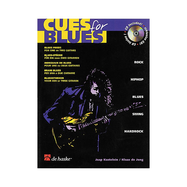 De Haske MusicCues for Blues Guitar Book with CD