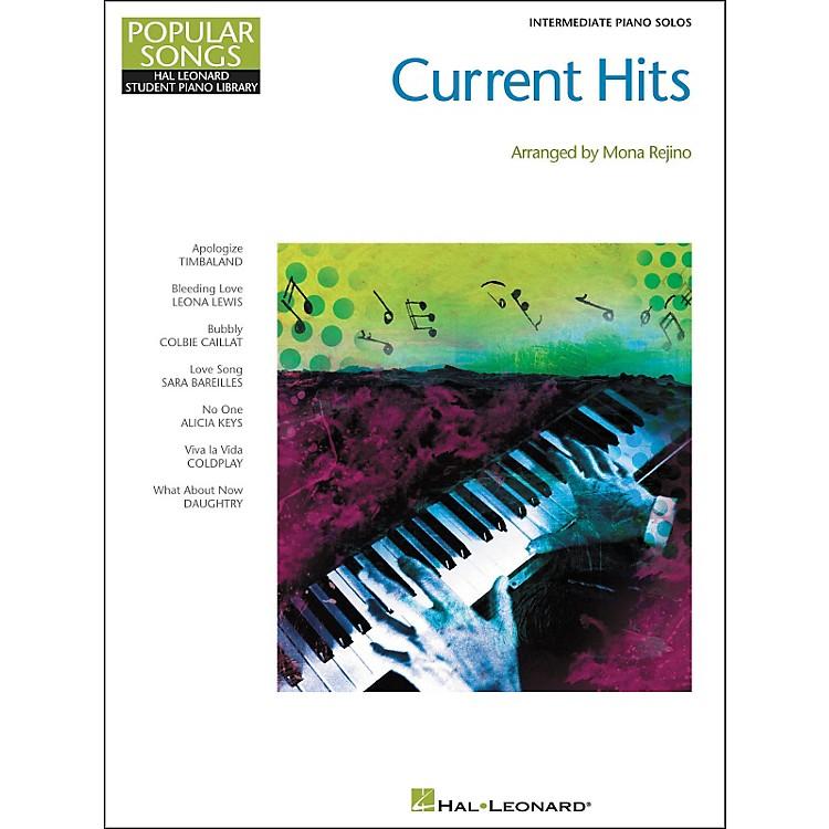 Hal LeonardCurrent Hits - Popular Songs Series (Intermediate Piano) by Mona Rejino