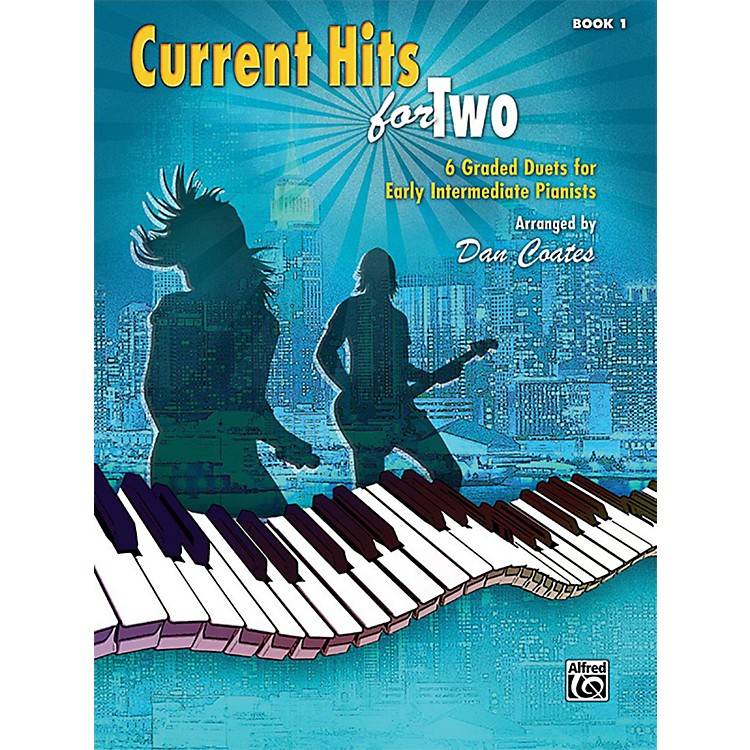 AlfredCurrent Hits for Two, Book 1 Early Intermediate