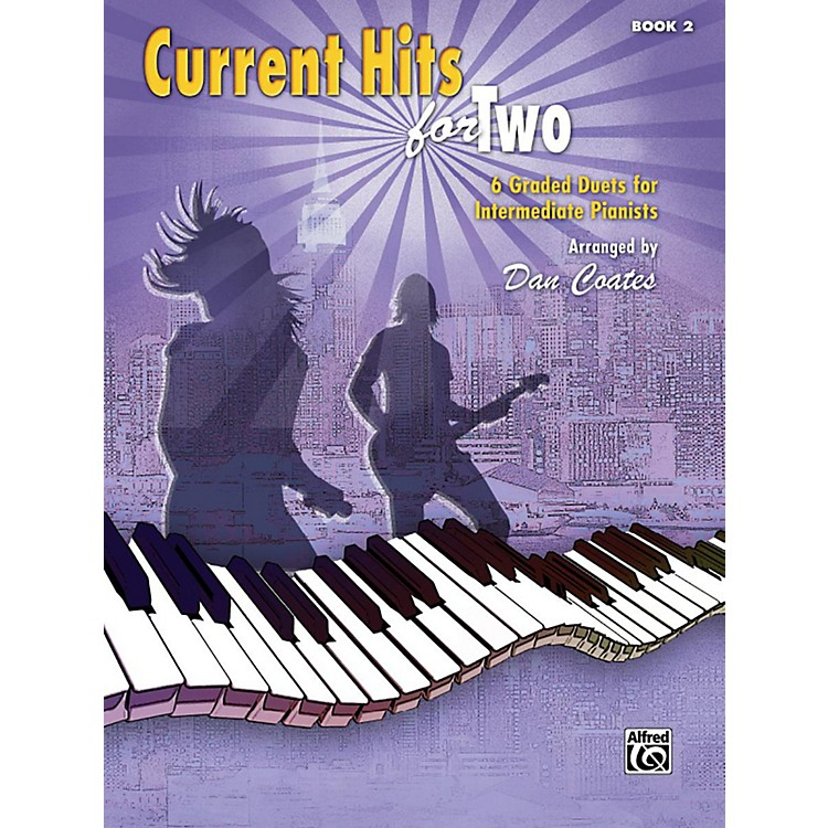 AlfredCurrent Hits for Two, Book 2 Intermediate