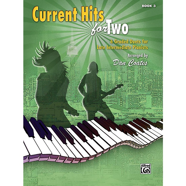 AlfredCurrent Hits for Two, Book 3 Late Intermediate