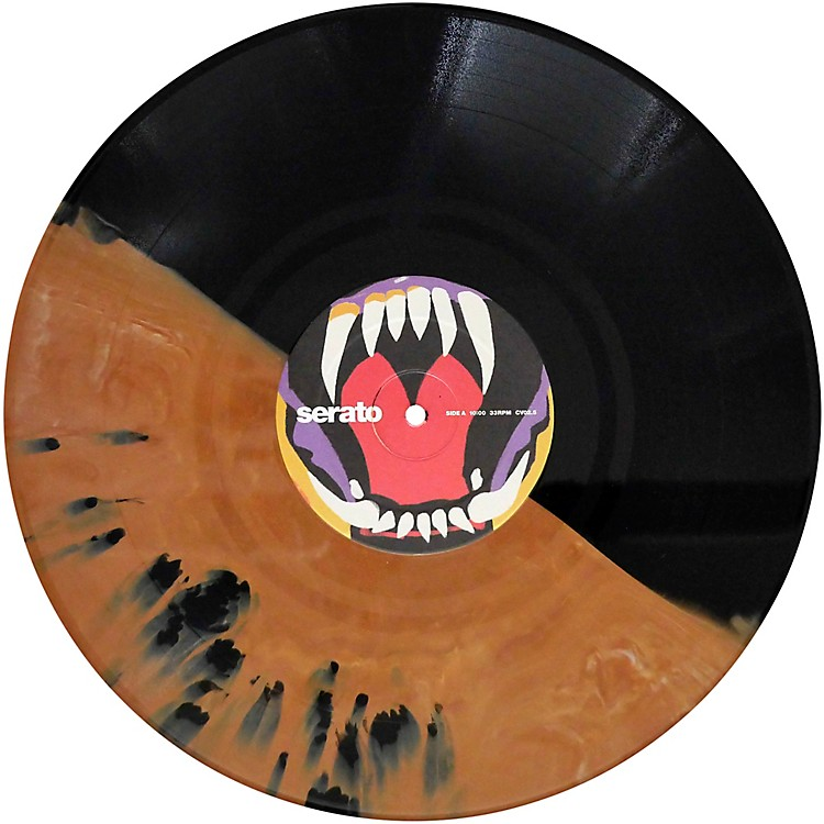 SERATOCursed #2 Fangs Under the Full Moon! Halloween NoiseMap Timecode Control Vinyl Pair