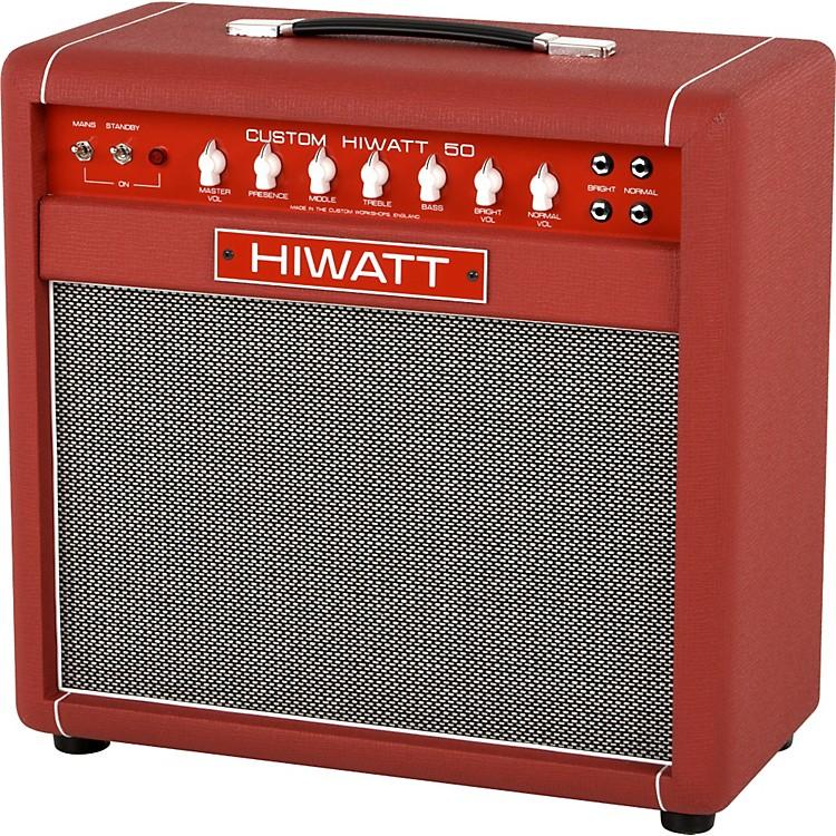 HiwattCustom 50W 1X12 Tube Guitar Combo AmpBlack886830821257