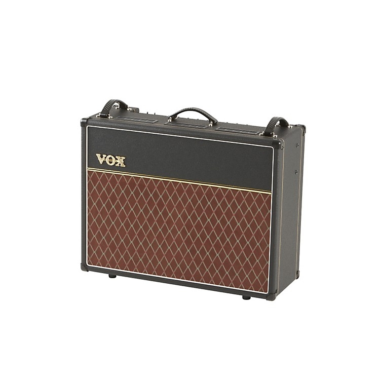 vox custom ac15c2 15w 2x12 tube guitar combo amp black music123. Black Bedroom Furniture Sets. Home Design Ideas