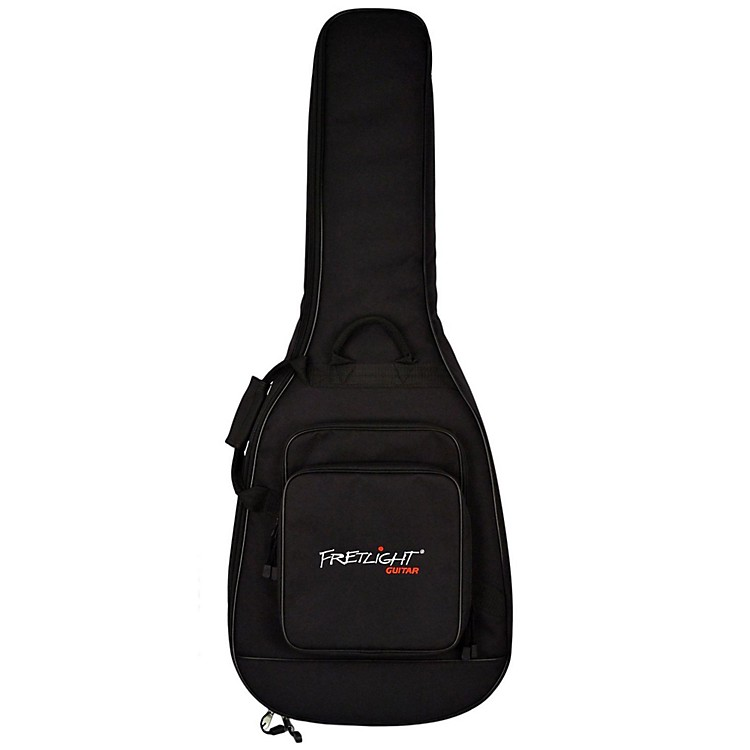 Fretlight Custom Acoustic gig bag with 40mm foam, two pockets and backpack pads