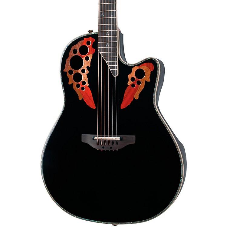 OvationCustom Elite C2078 AX Deep Contour Acoustic-Electric GuitarBlack