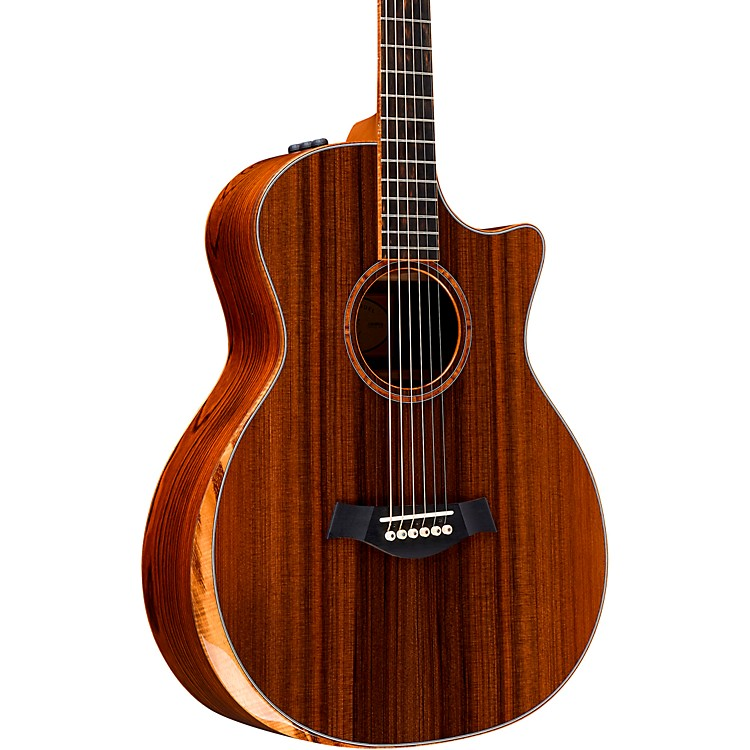 TaylorCustom Grand Auditorium 12-Fret #11090 Sinker Redwood and Cocobolo Acoustic-Electric GuitarNatural