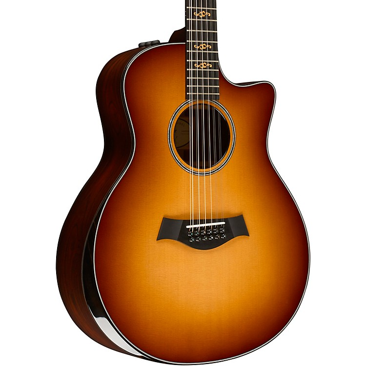 Taylor Custom Grand Symphony 12-String #10689 Acoustic-Electric Guitar Cherry Sunburst