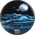 RemoCustom Graphic Blue Moon Resonant Bass Drum Head22 in.-thumbnail