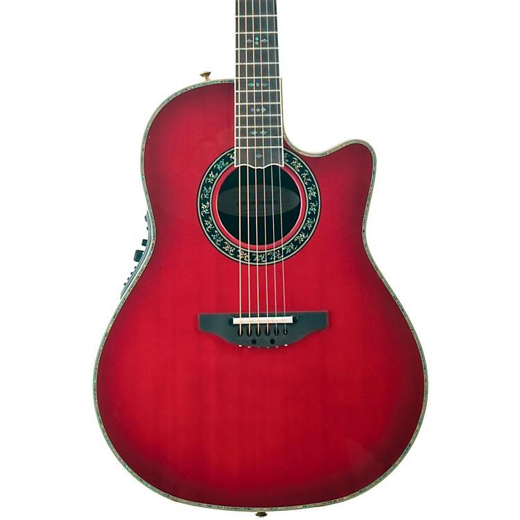 OvationCustom Legend C2079 AX Deep Contour Acoustic-Electric GuitarCherry Cherry Burst