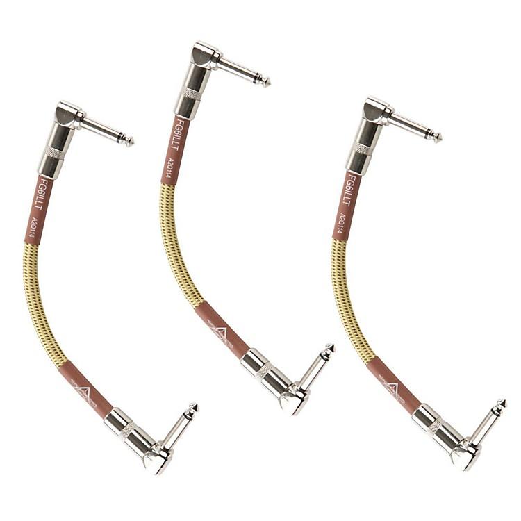 FenderCustom Shop Instrument Cable--3 Pack