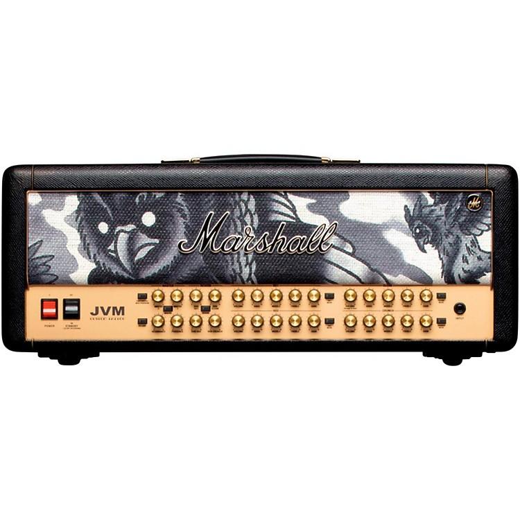MarshallCustom Tattoo JVM410H Phil Kyle 100W Tube Guitar HeadBlack888365899473