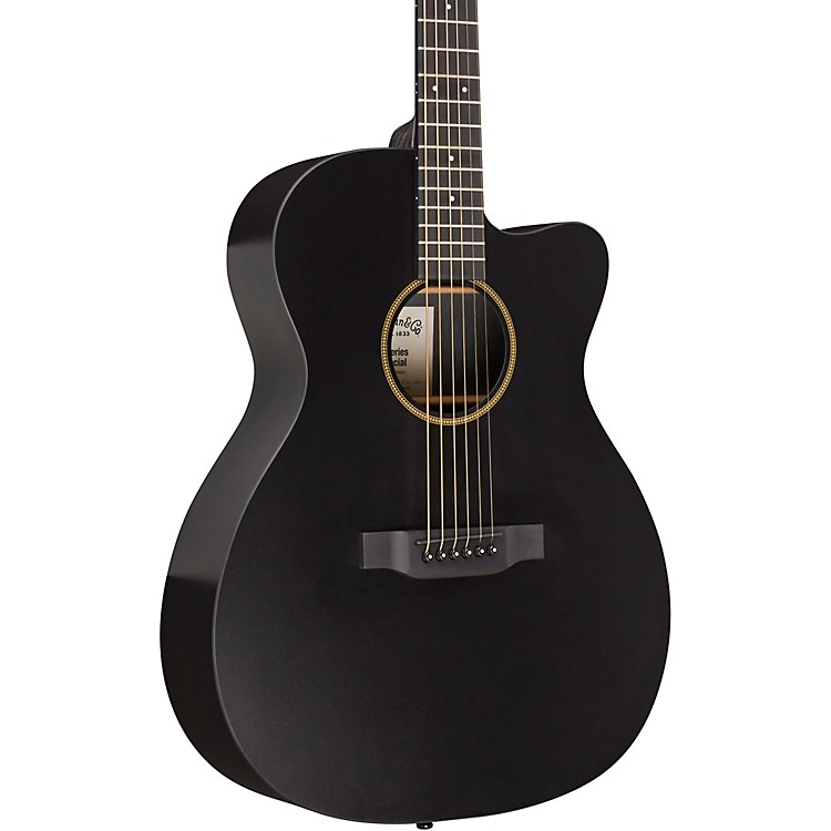 MartinCustom X-000CE Sonitone HPL Acoustic-Electric GuitarBlack
