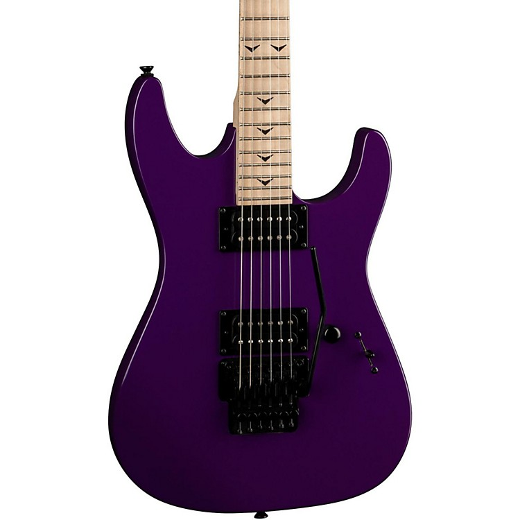 DeanCustom Zone II Floyd Electric GuitarPurple