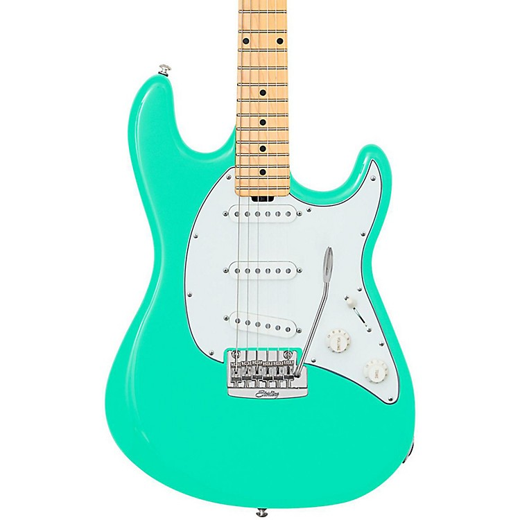 Sterling by Music Man Cutlass CT50 Electric Guitar Sea Foam Green