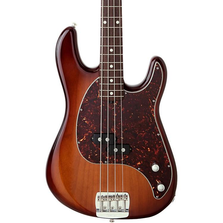 Ernie Ball Music ManCutlass Rosewood Fretboard Electric Bass GuitarHeritage Tobacco Burst