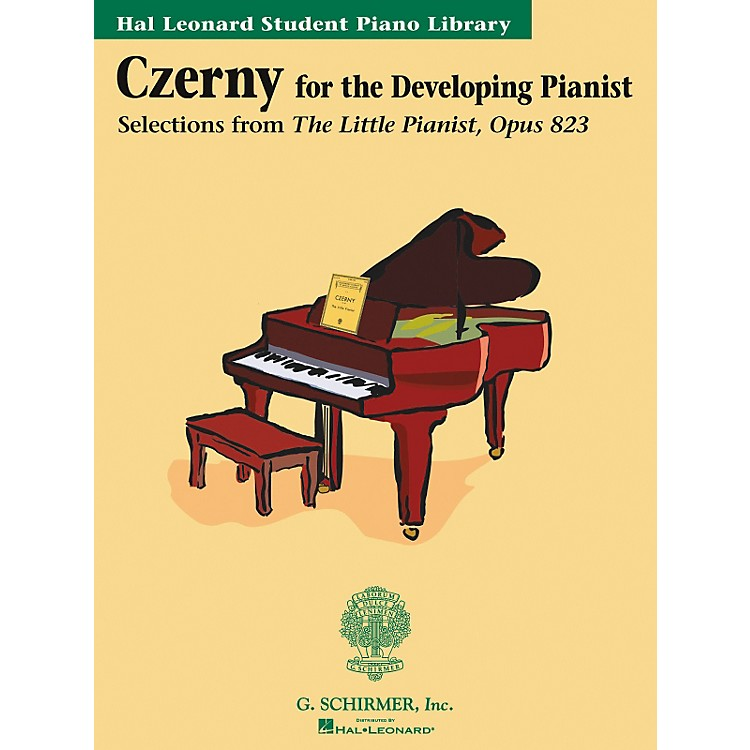 G. SchirmerCzerny Book Only Selections From The Little Pianist Opus 823 Hal Leonard Student Piano Library