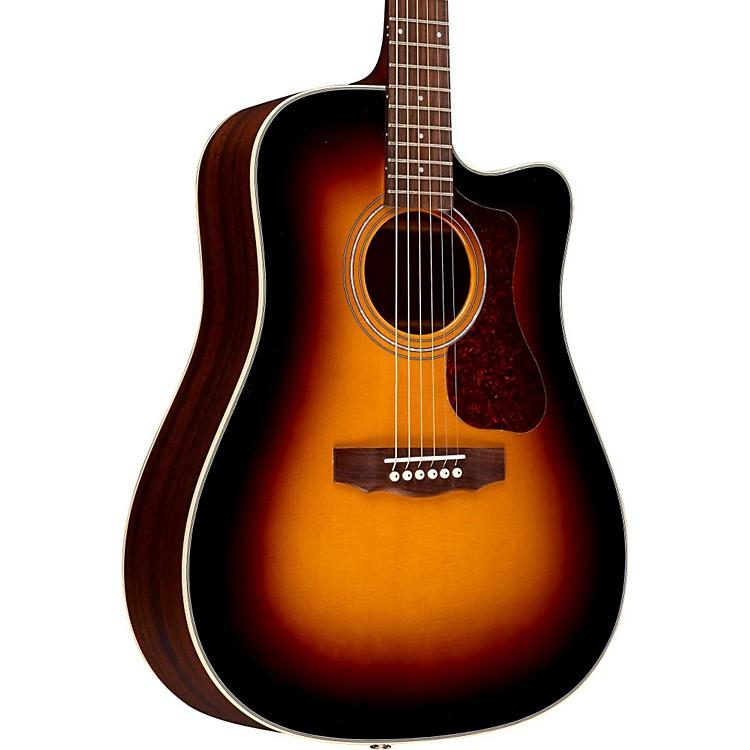 GuildD-140CE Acoustic-Electric GuitarSunburst