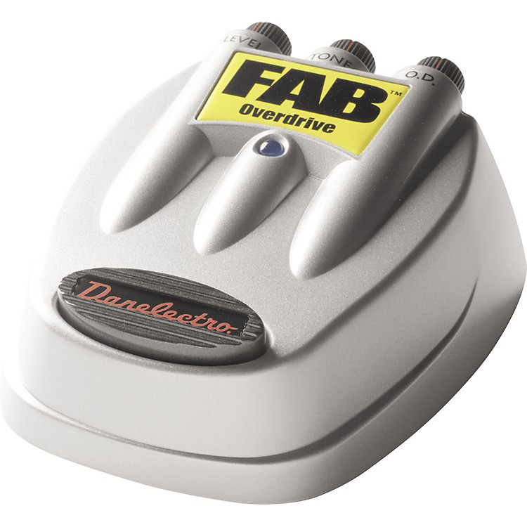 DanelectroD-2 FAB Overdrive Guitar Effects Pedal