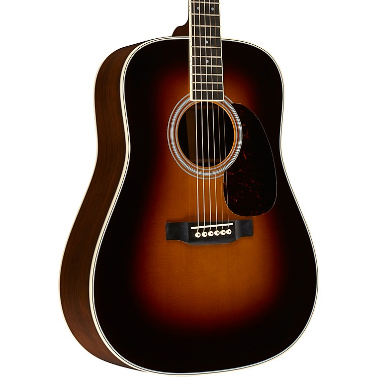 Martin D-35 Standard Dreadnought Acoustic Guitar Sunburst