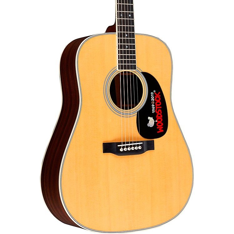MartinD-35 Woodstock 50th Anniversary Deadnought Acoustic GuitarNatural