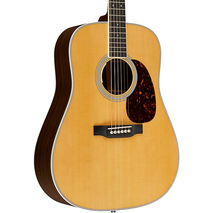 Martin D-35E-Z Standard Dreadnought Acoustic-Electric Guitar Aged Toner