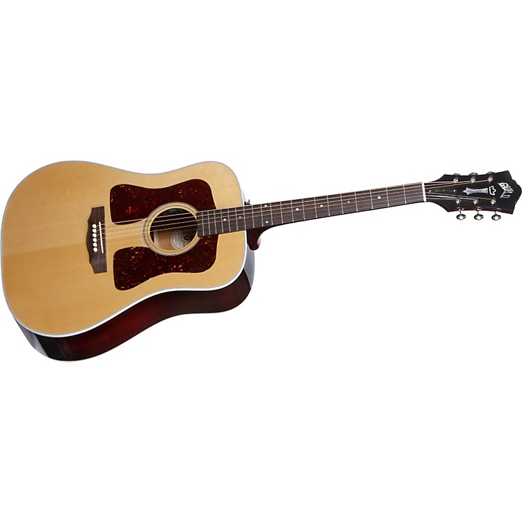 Guild D-40 Richie Havens Acoustic-Electric Guitar W/Fishman Natural
