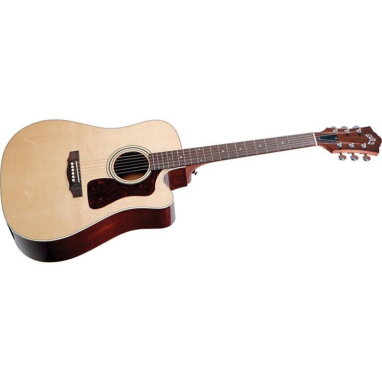 GuildD-40CE Standard Cutaway Acoustic-Electric Guitar