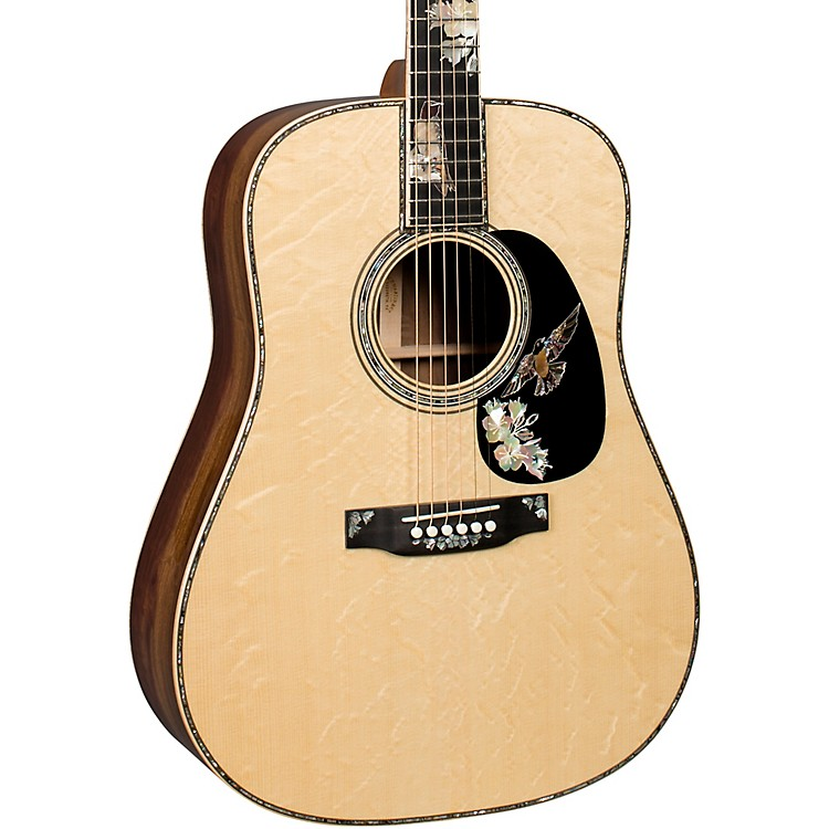 MartinD-42 Purple Martin Dreadnought Acoustic GuitarNatural