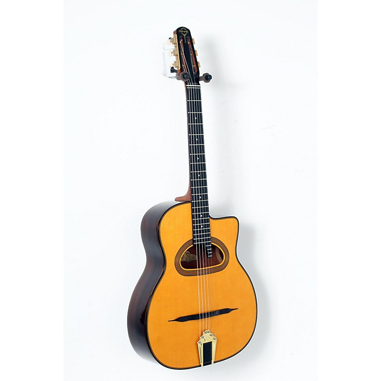 Gitane D-500 Grande Bouche Gypsy Jazz Acoustic Guitar Natural 888365898117