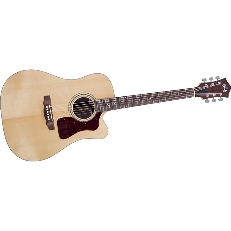 GuildD-50CE Standard Cutaway Acoustic-Electric Guitar