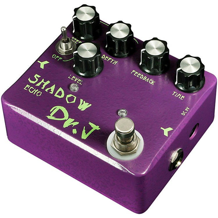 dr j pedals d 54 shadow echo guitar effects delay pedal with true bypass music123. Black Bedroom Furniture Sets. Home Design Ideas
