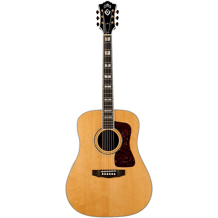 GuildD-55 Dreadnought Acoustic GuitarNatural