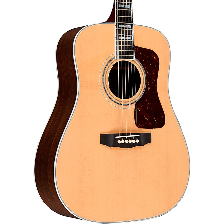 Guild D-55E Dreadnought Acoustic-Electric Guitar Natural