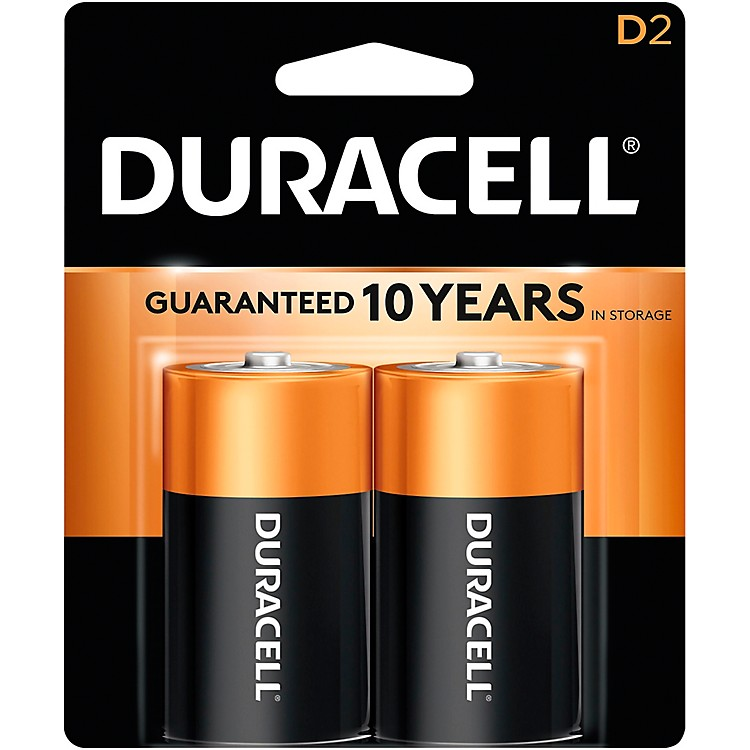 Duracell D Batteries 2-Pack