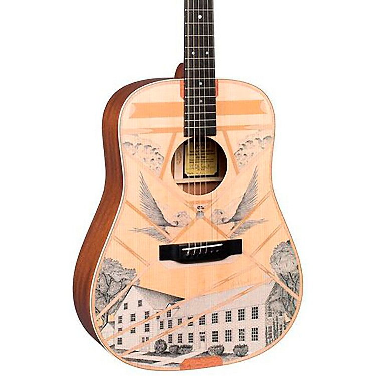 MartinD-Boak Custom Signature Edition Dreadnought Acoustic GuitarNatural