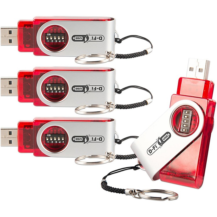 Chauvet DJD-Fi USB Transceiver 4-Pack