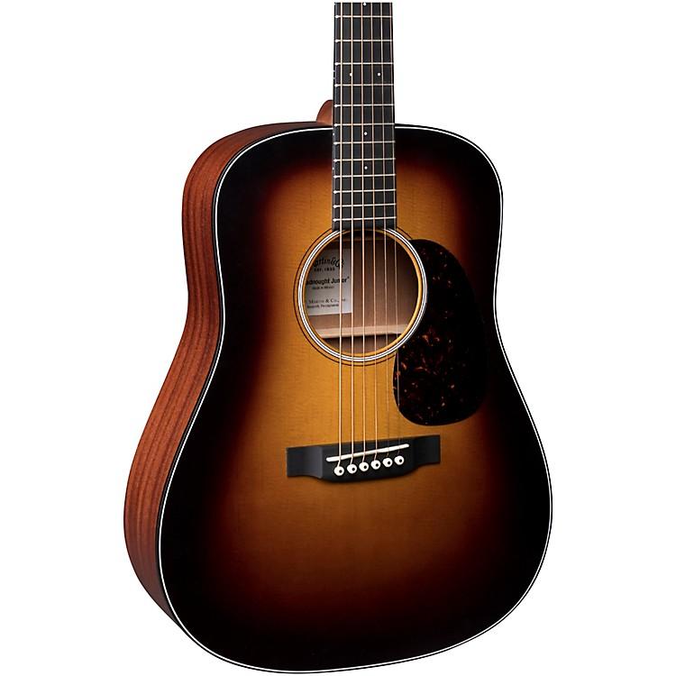 MartinD Jr. Sunburst Acoustic GuitarNatural