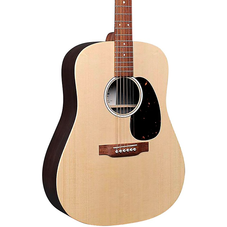 MartinD-X2E Rosewood Dreadnought Acoustic-Electric Guitar