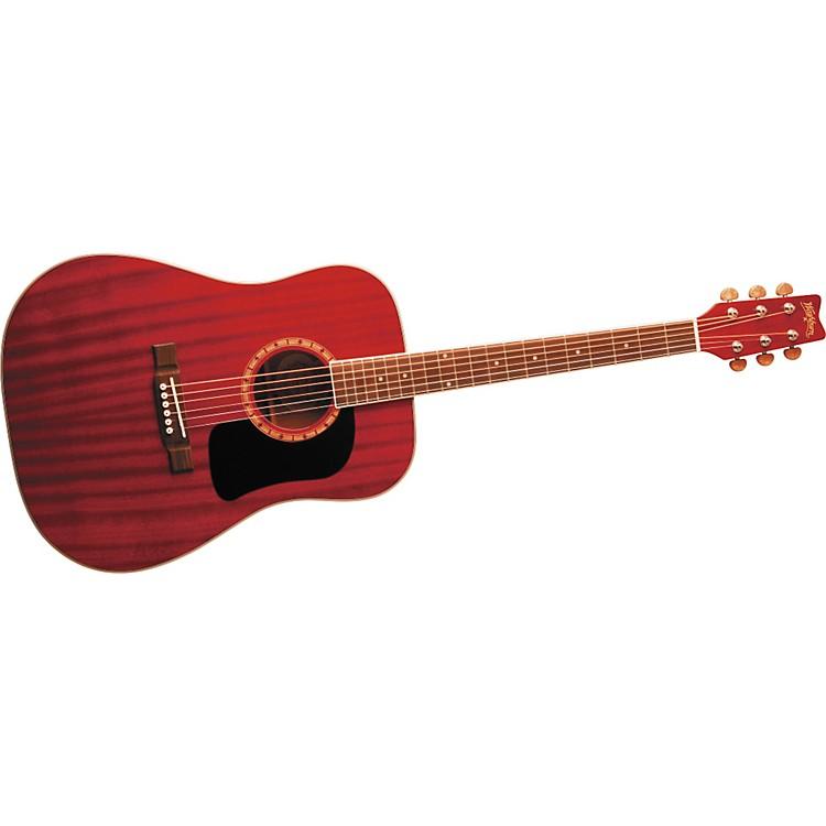 WashburnD100DL Acoustic GuitarBlack886830914683