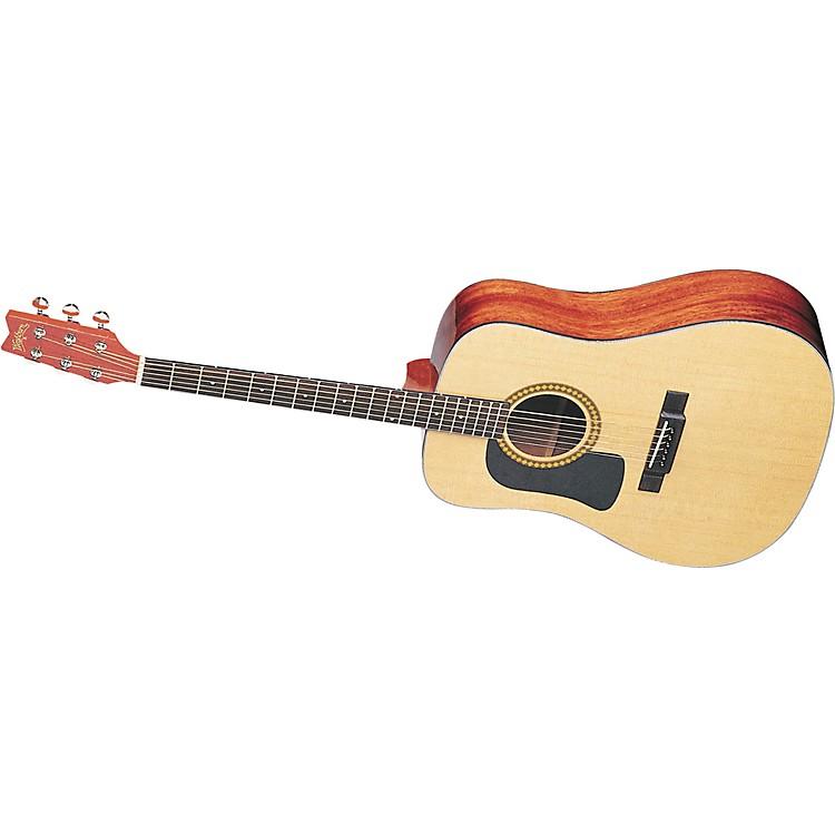 washburn d10s left handed acoustic guitar with case music123. Black Bedroom Furniture Sets. Home Design Ideas