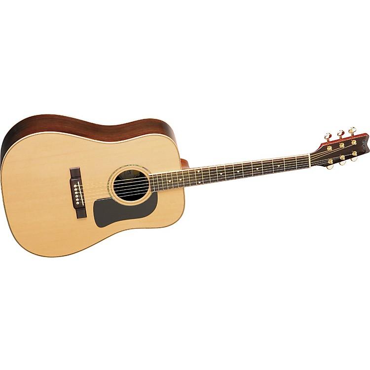 washburn d10sdl deluxe dreadnought acoustic guitar w case music123. Black Bedroom Furniture Sets. Home Design Ideas