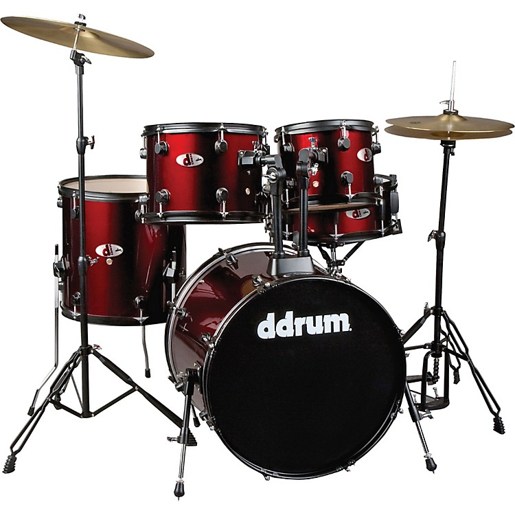 DdrumD120B 5-Piece Drum SetRed