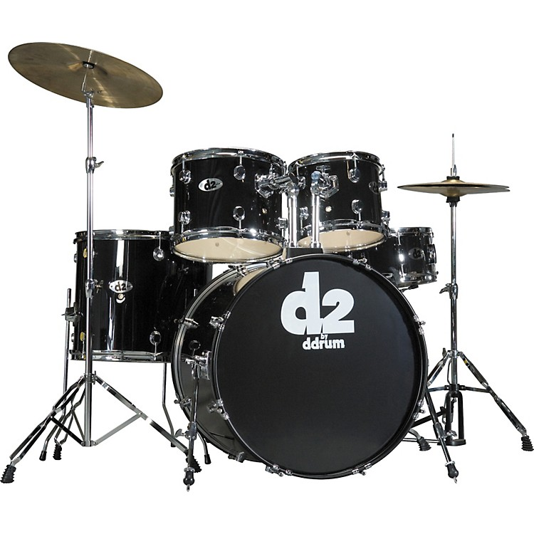 Ddrum D2 5-piece Drum Set Silver