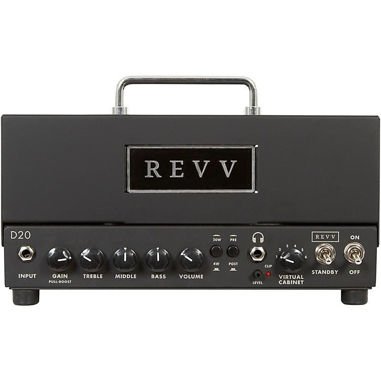 Revv AmplificationD20 20W Tube Guitar Amp HeadBlack