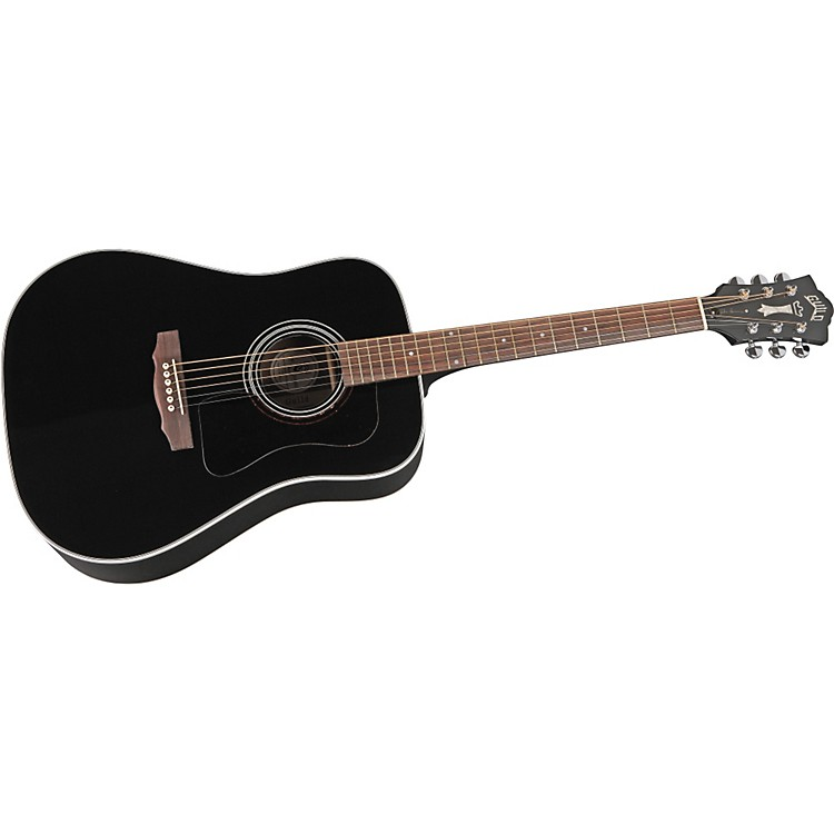 guild d40 richie havens signature dreadnought acoustic electric guitar with fishman with case. Black Bedroom Furniture Sets. Home Design Ideas